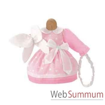 Kathe Kruse® - Vetement robe de Fée pour poupée bébé de 38 à 43 cm - 33883