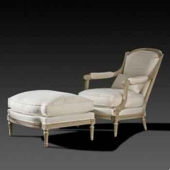 fauteuil de coin de feu louis xvi sen et repose pied massant l16tf26. Black Bedroom Furniture Sets. Home Design Ideas