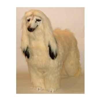 Peluche debout afgan-hound 100 cm Piutre -290