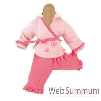 Kathe Kruse® - Vetement rose pour poupée bébé de 28 à 33 cm - 33870