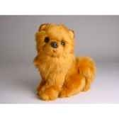 peluche assise chow chow cannelle 28 cm piutre 1302