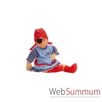 Kathe Kruse®  - Vetement pour poupée Kikou femme de pirate - 39704