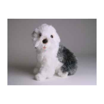 Peluche assise Berger old english 28 cm Piutre -1305