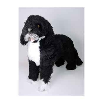 Peluche debout chien d'eau portugais 70 cm Piutre -4225