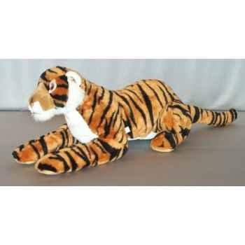 Peluche bébé tigre couché 90 cm Piutre -G252