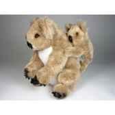 peluche koala et son bebe 40 cm piutre 2672