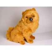 peluche assise chow chow cannelle 50 cm piutre 3249