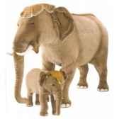 peluche debout elephant d inde 90 cm piutre 2575