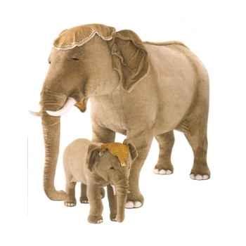 Peluche debout éléphant d'Inde 90 cm Piutre -2575