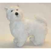 peluche debout west higland scottish terrier 45 cm piutre 2277