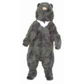 peluche debout ours noir d asie 200 cm piutre 2186