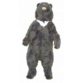 Peluche debout ours noir d'Asie 200 cm Piutre -2186