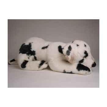 Peluche allongée dalmatien 40 cm Piutre -3244