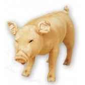 peluche debout cochon 130 cm piutre 2416