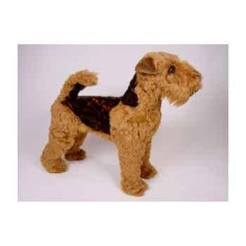 Peluche debout welsh terrier 60 cm Piutre -1235