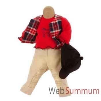Kathe Kruse® - Vetements Cavaliers pour poupée de 45 à 48 cm - 33856