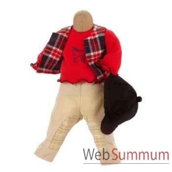 Kathe Kruse® - Vetements Cavaliers pour poupée de 34 à 38 cm - 33854