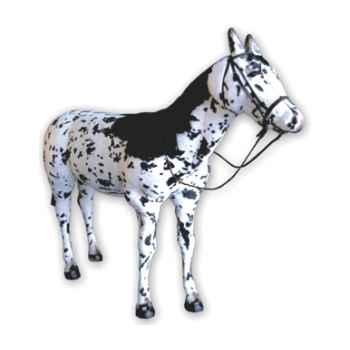 Peluche debout cheval apaloosa 200 cm Piutre -2690