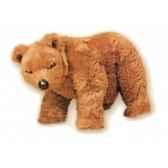 peluche debout ours grizzly 45 cm piutre 2103