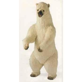 Peluche debout ours polaire 225 cm Piutre -2102