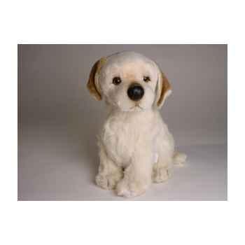 Peluche assise Labrador Retriever 35 cm Piutre -1203