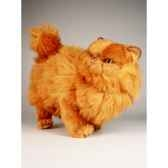 peluche debout chat persan 50 cm piutre 2452