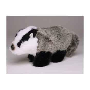 Peluche Miniature blaireau 15 cm Piutre -4264