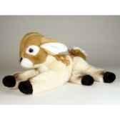 peluche allongee bambi 39 cm piutre 4833