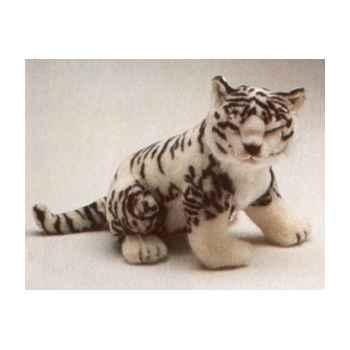 Peluche assise tigreau de sibérie 55 cm Piutre -2533