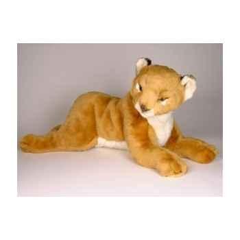 Peluche allongée lion 55 cm Piutre -2506