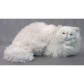 peluche allongee chat persan 50 cm piutre 312