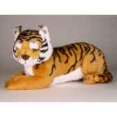 peluche allongee tigre du benga37 cm piutre 2517
