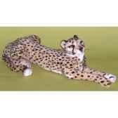peluche allongee guepard 75 cm piutre 2583