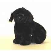 peluche assise chien terre neuve 40 cm piutre 2235