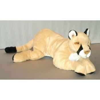 Peluche Puma couché 120 cm Piutre -G243