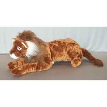 Peluche lion couché 90 cm Piutre -G250