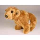 peluche assise miniature ours grizzly 24 cm piutre 4292