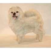 peluche debout chow chow beige 70 cm piutre 3342