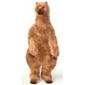 peluche debout ours grizzly 160 cm piutre 2111