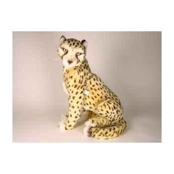 Peluche assise guépard 48 cm Piutre -2584