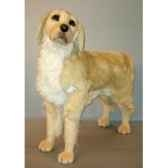 peluche debout golden retriever 90 cm piutre 2200