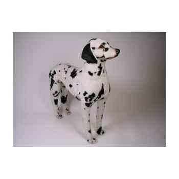 Peluche debout dalmatien 80 cm Piutre -3240