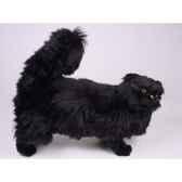 peluche debout chat persan noir 50 cm piutre 2395