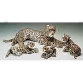 peluche leopard cm piutre 2585