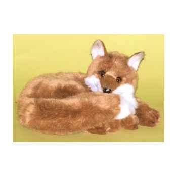 Peluche couchée renard 40 cm Piutre -2700