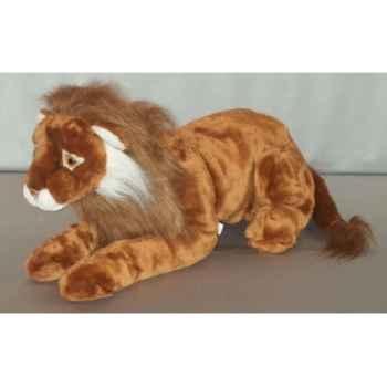 Peluche lion couché 120 cm Piutre -G251