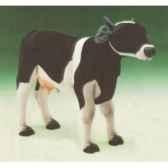peluche debout vache noire et blanche 130 cm piutre 2686
