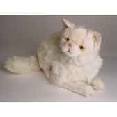 peluche allongee chat persan chinchilla beige 50 cm piutre 2306