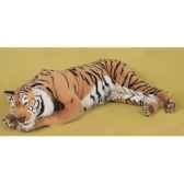 peluche allongee tigre du benga200 cm piutre 2513