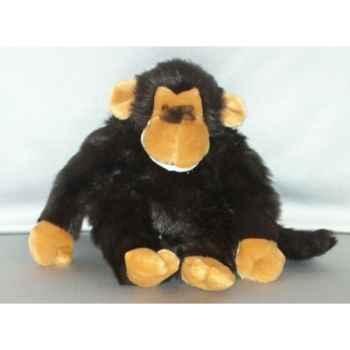 Peluche chimpanzé 40 cm Piutre -G270